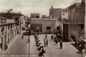 Alezio, Piazza del pesce